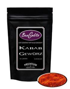 Dönergewürz - Kebab oder Döner Gewürz - Türkische Gewürzmischung 85 Gramm von BenCondito